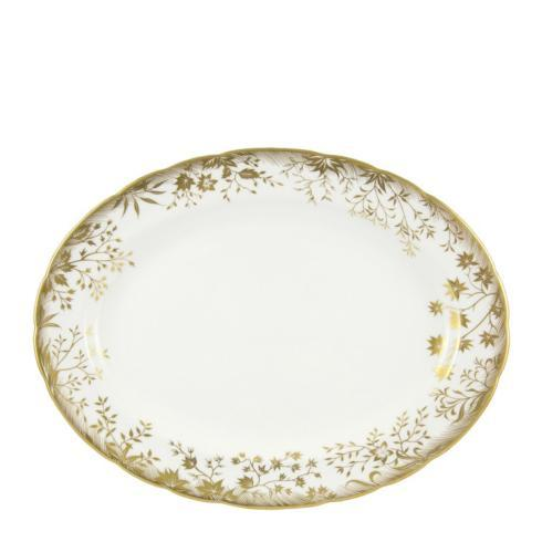Royal Crown Derby Arboretum Gold Large Oval Platter collection with 1 products