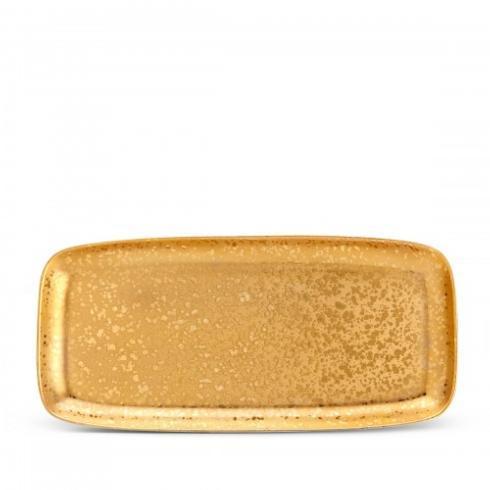 L'Objet Alchimie Gold Large Rectangular $350.00