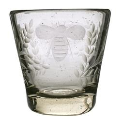 Jan Barboglio   Wee Bee Clear Glass $75.00