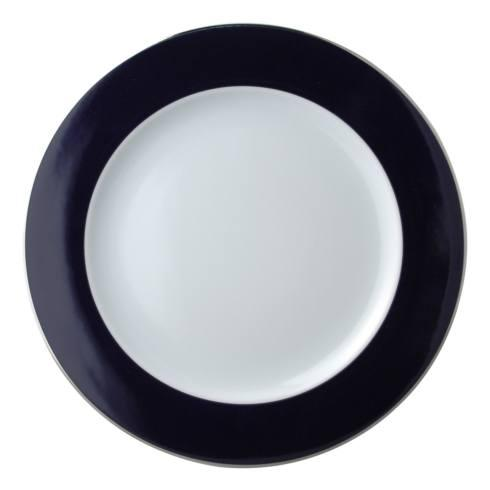 $121.00 Opaline Navy Blue and Platinum Service Plate