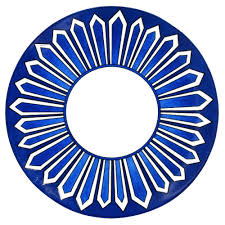 Hermes-Bleus d'Ailleurs Dinner Plate collection with 1 products