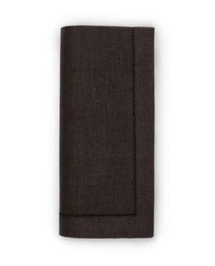 $58.00 Festival Black Dinner Napkins- S/4