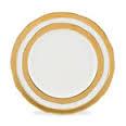 $70.00 Como Gold Bread Plate