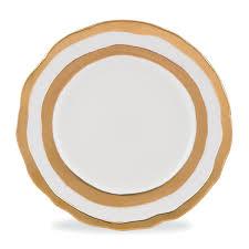 $95.00 Como Gold Dinner Plate