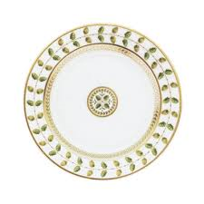Bernardaud Constance Constance Green  Constance Green Salad Plate $127.00