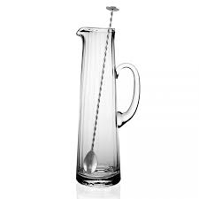 William Yeoward  Jugs and Pitchers Corinne Tall Cocktail Jug & Spoon $200.00