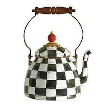 MacKenzie-Childs   Courtly Check 2 QT Kettle $100.00