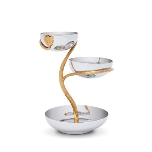 Deco Leaves 3 Tier Server Medium collection with 1 products