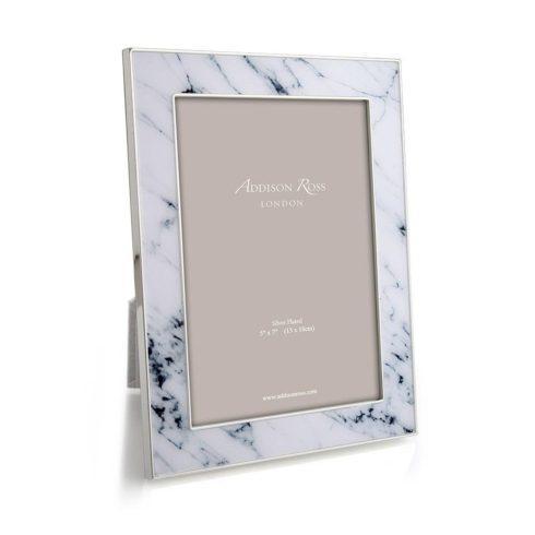 Addison Ross  5x7 Frames White Marble Frame 5x7 $93.75