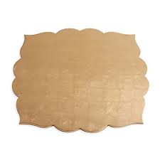 Kim Seybert Fez Placemats in Champagne collection with 1 products