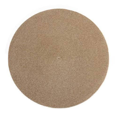 "$32.50 Glimmer 15"" Gold Dust Placemat"