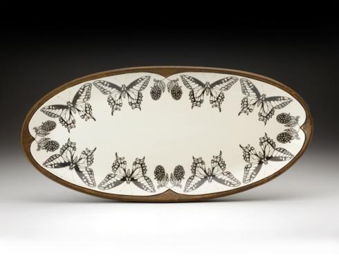 Laura Zindel Large Butterfly Platter collection with 1 products