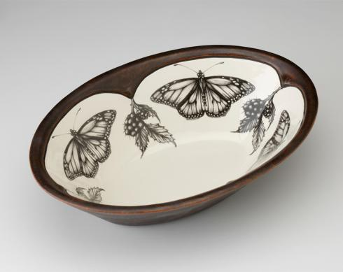 $165.00 Laura Zindel Large Butterfly Serving Bowl