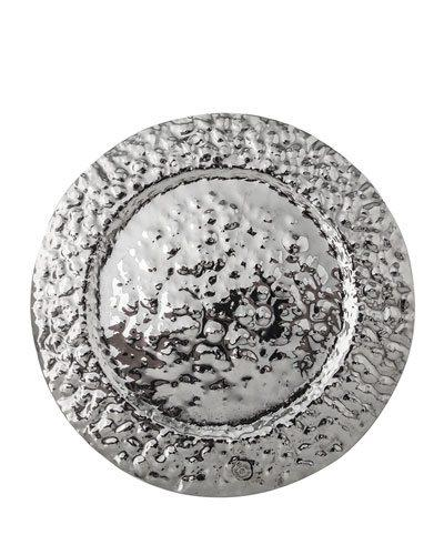 $155.00 Double Hammered Charger Plate