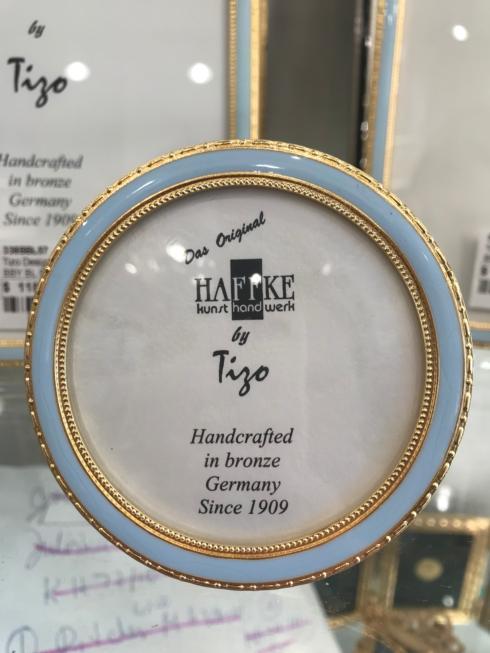$84.00 Tizo Baby Blue Bronze Round Frame