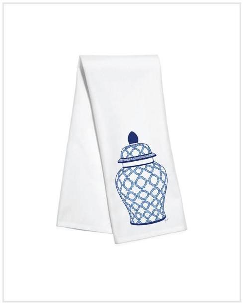 Toss Designs   Ginger Jar Kitchen Towel $18.00