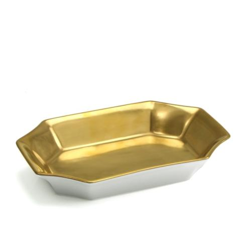 Laurent Gold Rectangular Dish collection with 1 products