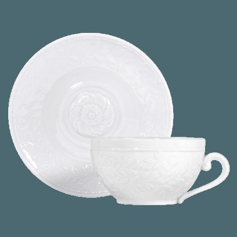 Bernardaud  Louvre Jumbo Breakfast Cup and Saucer $119.00