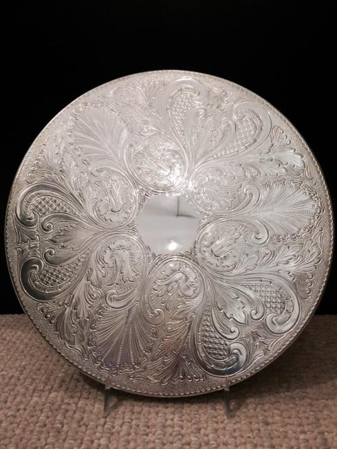 Michael Feinberg   English Silver Round Trivet 12 in. $142.00