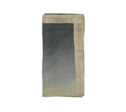 $45.00 Dip Dye Napkin in Sage and Midnight