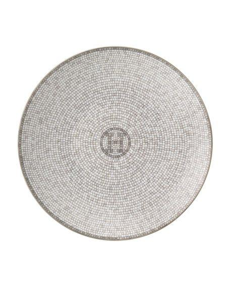 $130.00 Hermes Pain Mosaque Bread and Butter Plate