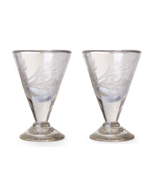 $150.00 Lustre d\'Pasion Cordial Set of 2 Clear