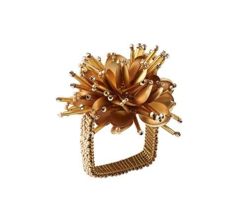 Starburst Napkin Ring In Gold  collection with 1 products