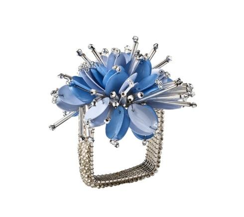 Starburst Napkin Ring in Periwinkle  collection with 1 products