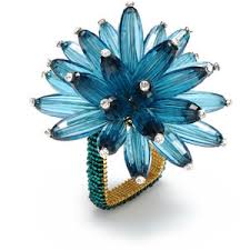 Napkin Rings - Aqua collection with 1 products