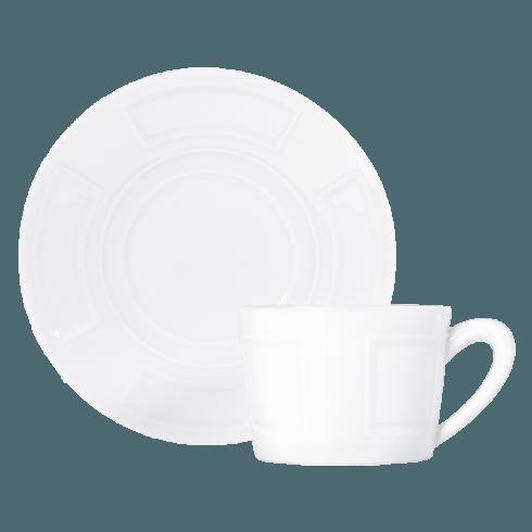 Bernardaud  Naxos Tea Cup and Saucer  $48.00