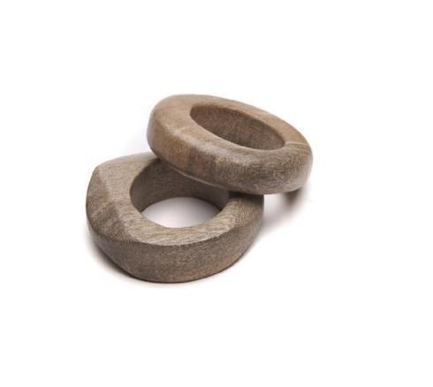 $24.00 Obeche Sculpted Napkin Ring