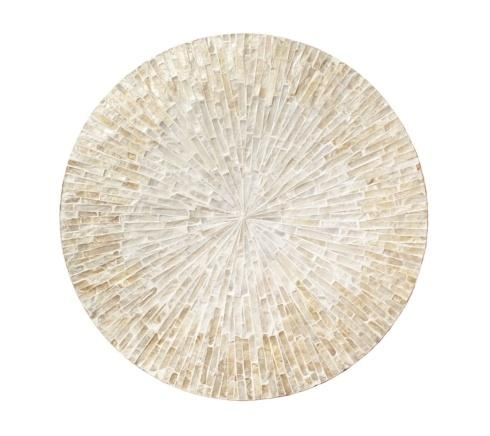 Byzantine Placemat In Ivory and Gold  collection with 1 products
