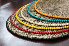 Round Placemats with Beads collection with 1 products