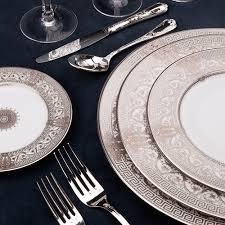 PS The Letter Exclusives   Haviland Salon Murat White Dessert Plate $235.00