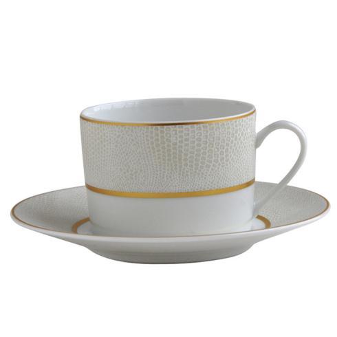 Bernardaud  Sauvage Or Tea Cup and Saucer $80.00