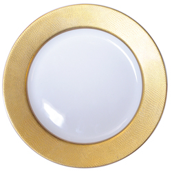 Bernardaud  Sauvage Or Gold Accent Plate $105.00