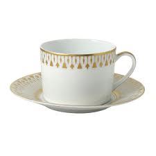 Bernardaud  Soleil Levant Tea Cup and Saucer $123.00