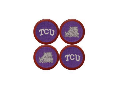 $75.00 TCU Coasters Set