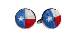 $55.00 Texas Flag Cufflinks