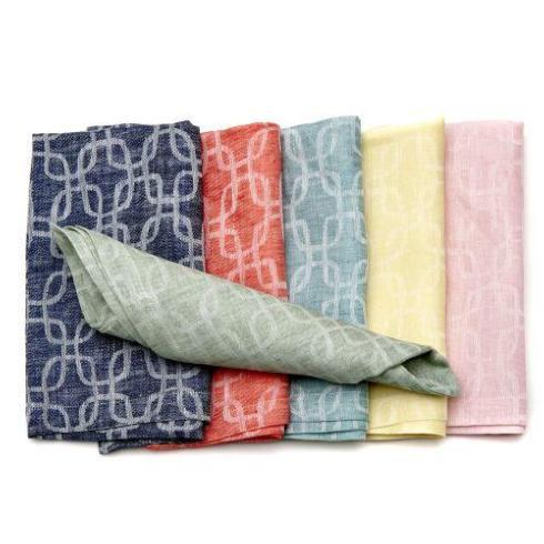 Trellis Napkin in Aqua collection with 1 products