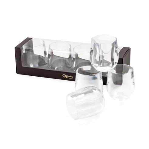 $30.00 Acrylic 12oz Set of 4 Tumbler Glass Clear