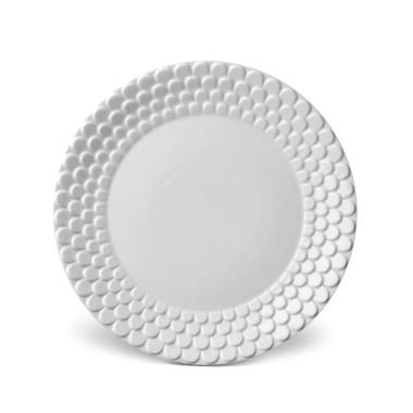 L'Objet Aegean White Dessert Plate $38.00