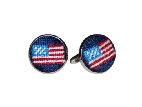 $55.00 American Flag Cufflinks