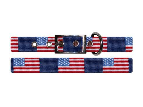 $75.00 American Flag Dog Collar