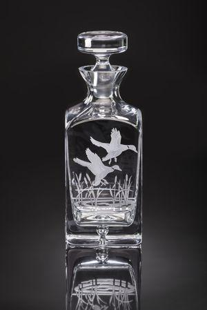 Julie Wear Designs   American Ducks Decanter $279.00