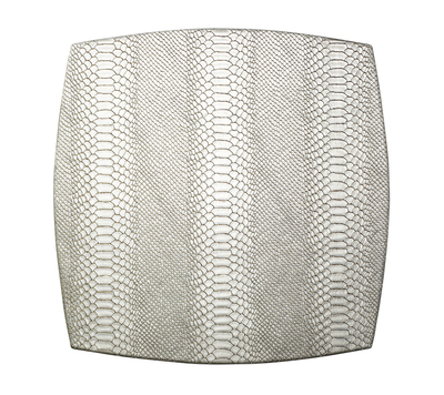 PS The Letter Exclusives   Kim Seybert Anaconda Chalk Placemat $41.00
