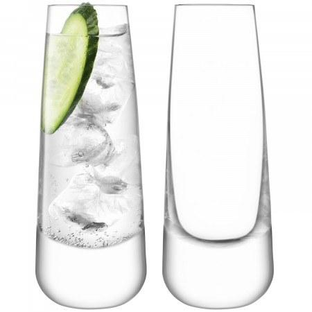 PS The Letter Exclusives   Long Drinking Glass Set of 2 $75.00