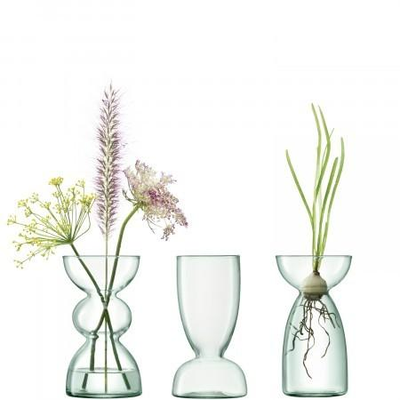 PS The Letter Exclusives   LSA Canopy Trio Vase Set  $45.00