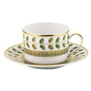 Bernardaud Constance Constance Green  Constance Green Tea Saucer $64.00