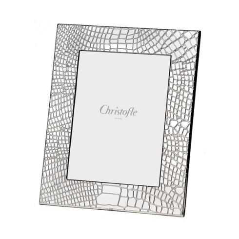 Christofle  Frames 4x6 Croco D'Argent Silver Plate $280.00